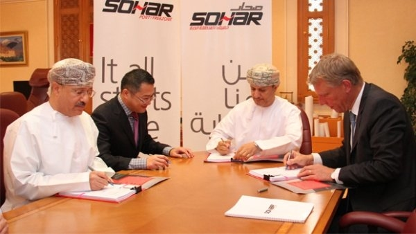 The signing ceremony to finalise the new contract took place on Sunday with Sohar Port and Freezone chairman Sultan bin Salem Al Habsi.