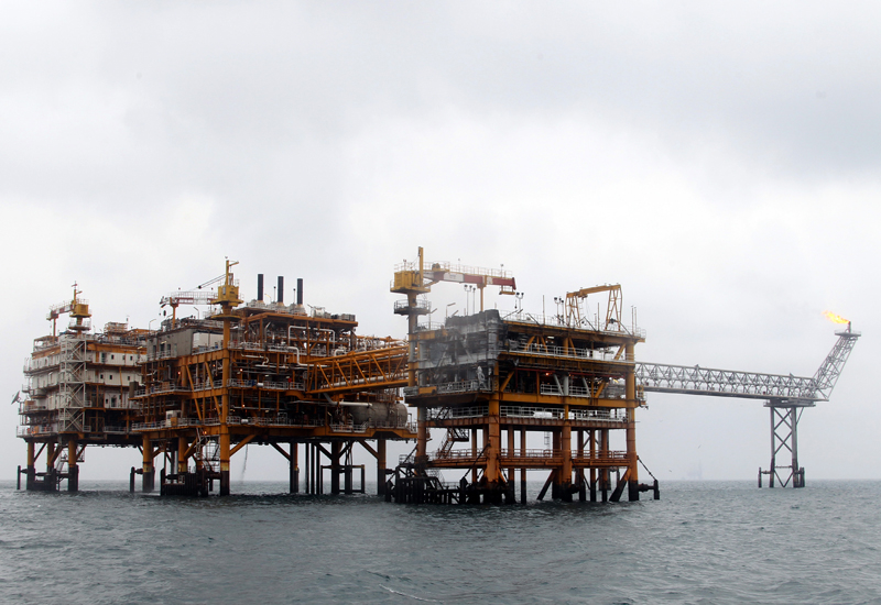 The South Pars gas field contains 8% of global gas reserves.