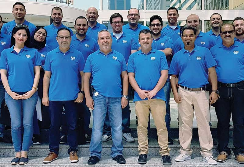 Passionate people make it happen: The workforce under Atlas Copco Rental Middle East has grown during the last five years in numbers by 30%.