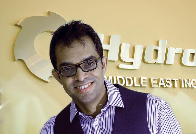 Thomas Arakal, managing director, Hydro Middle East.