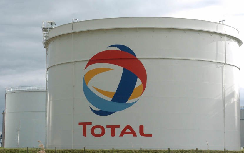 Total said it received notification of the trial.