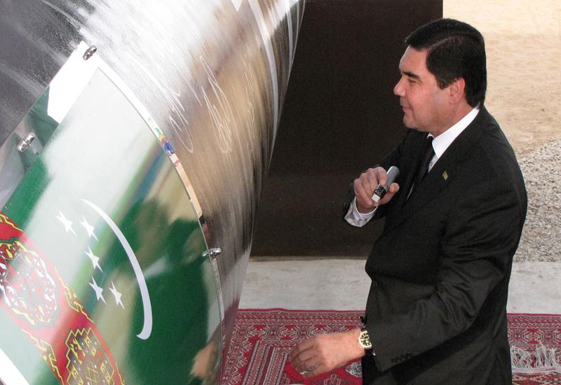 Turkmenistan?s President Kurbanguly Berdymukhamedov has sacked Bayramgeldy Nedirov, citing poor performance. GETTY IMAGES