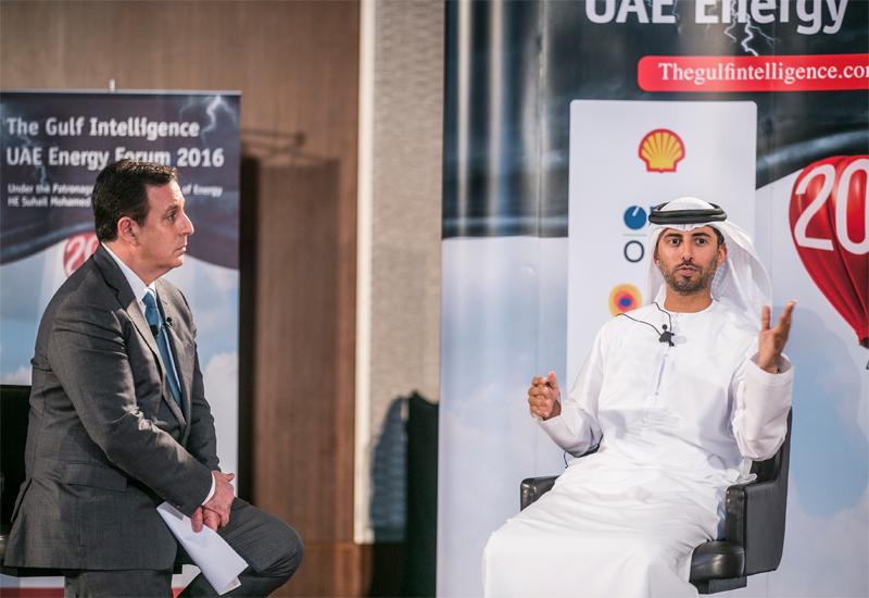 The United Arab Emirates Energy Minister Suhail bin Mohammed al-Mazroui.