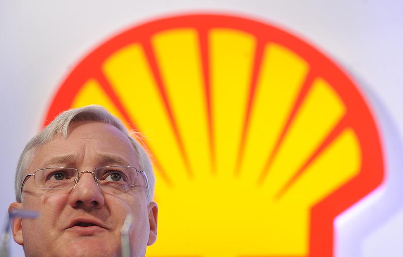 Peter Robert Voser-- Shell's former CEO.