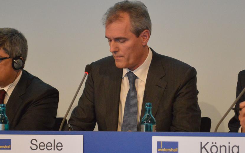 Wintershall CEO, Rainer Seele.