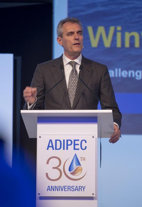 Wintershall's chairman Rainer Seele at ADIPEC