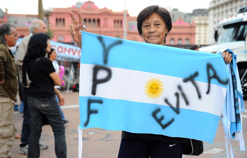 YPF's nationalisation is a hit with voters, but could cost Argentina in the long run. GETTY IMAGES
