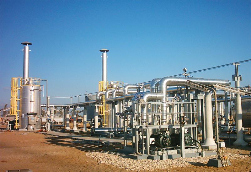 Dana Gas plant.