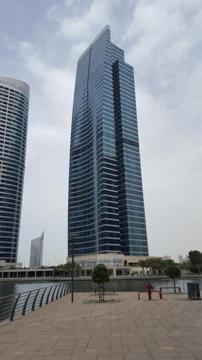 Frames' new office is located in JLT, Dubai.