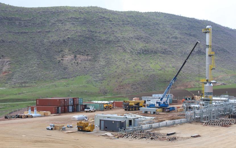 Gulf Keystone has operations in Kurdistan.