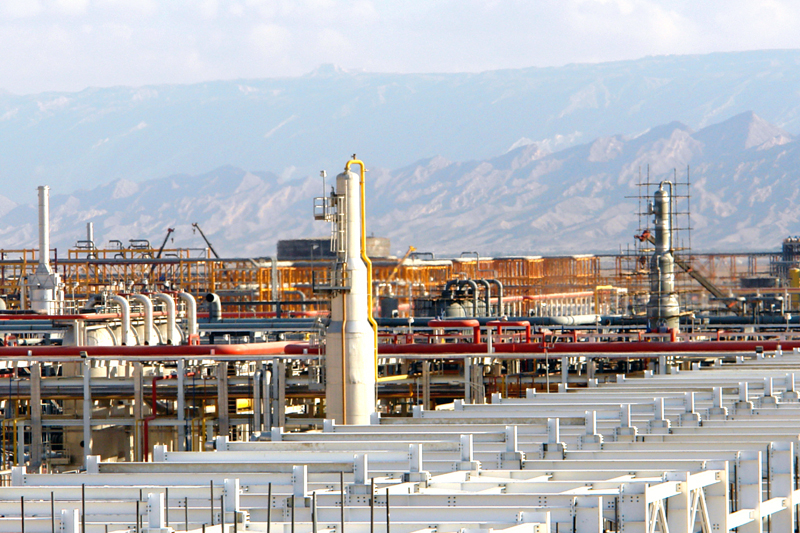 Iran's dried gas output is about 160 bcm, a little more than domestic consumption.