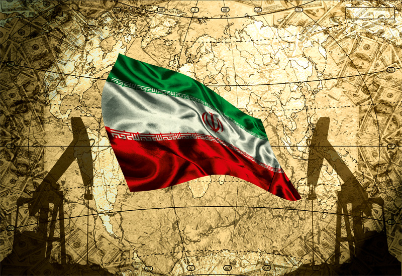 The cumulative increase in Iran's oil output since December has been 740,000 bpd.