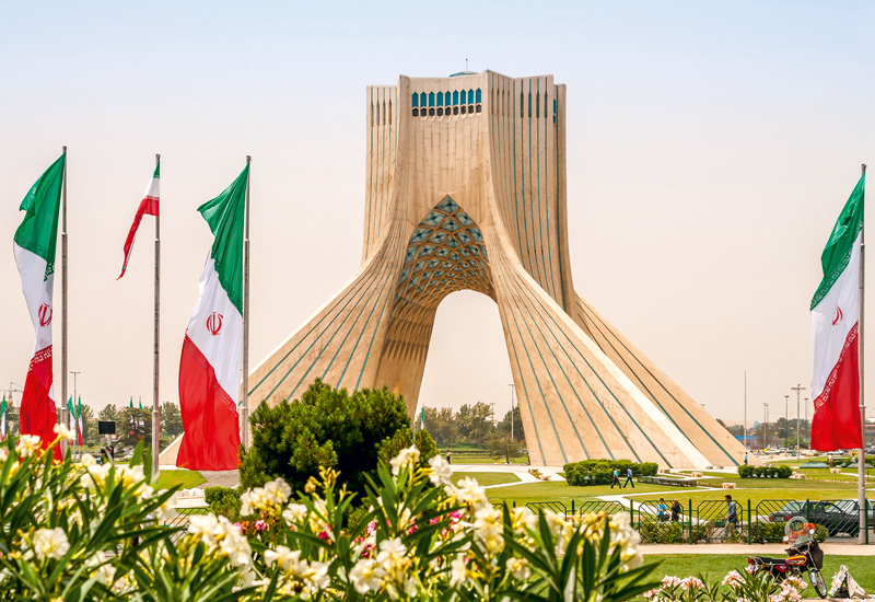Iran holds 9% of the world's proven oil reserves.