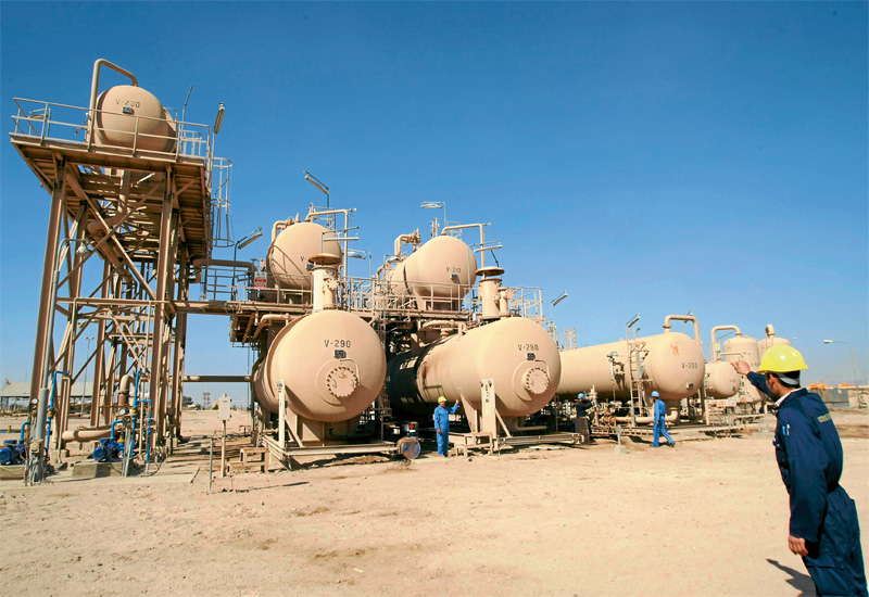 Iraq's production capacity still has a long way to go and many logistical challenges to overcome.