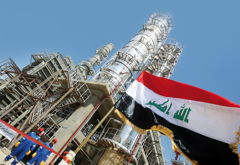 Iraq's unreliable oil supply drags OPEC output below the 30 m barrel mark.