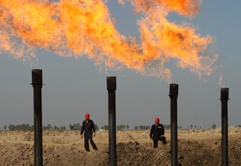 Iraq flares