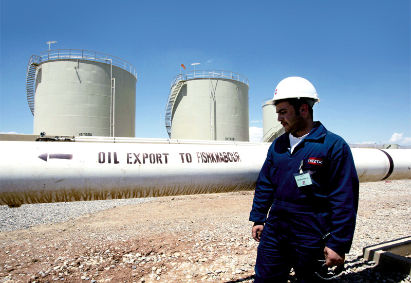 The majority of Kurdish exports go through the Turkish port of Ceyhan.