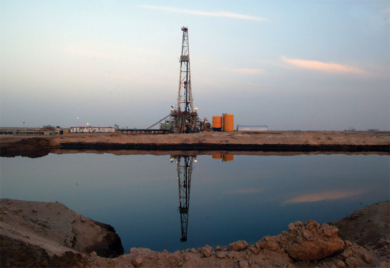 Kuwait's oilfield.