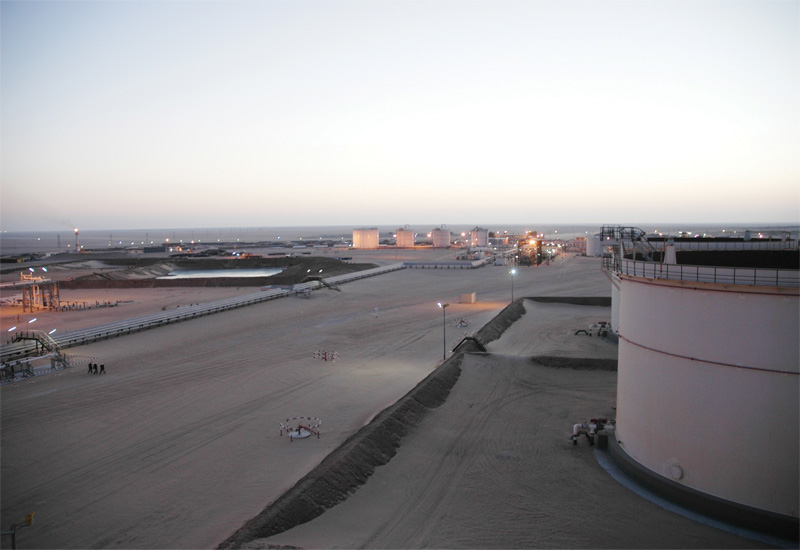 Libya is trying to restore its production levels after months of protests.
