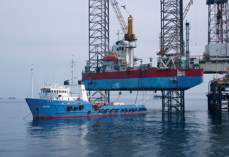 The ship will also respond swiftly to vessels in need of rapid cargo transfers.