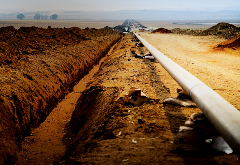 The proposed pipeline will be 1,680 kilometers in length.