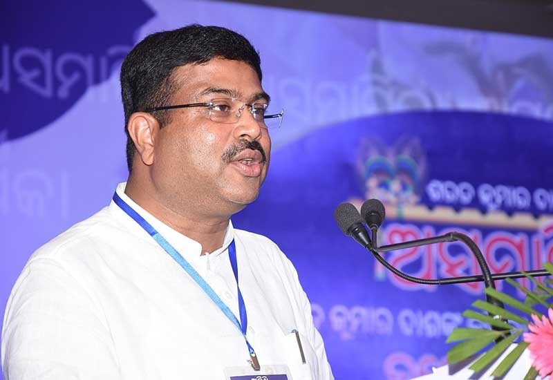 India's Minister for Petroleum and Natural Gas Dharmendra Pradhan expects ADNOC to make substantial oil shipment in the next few months.