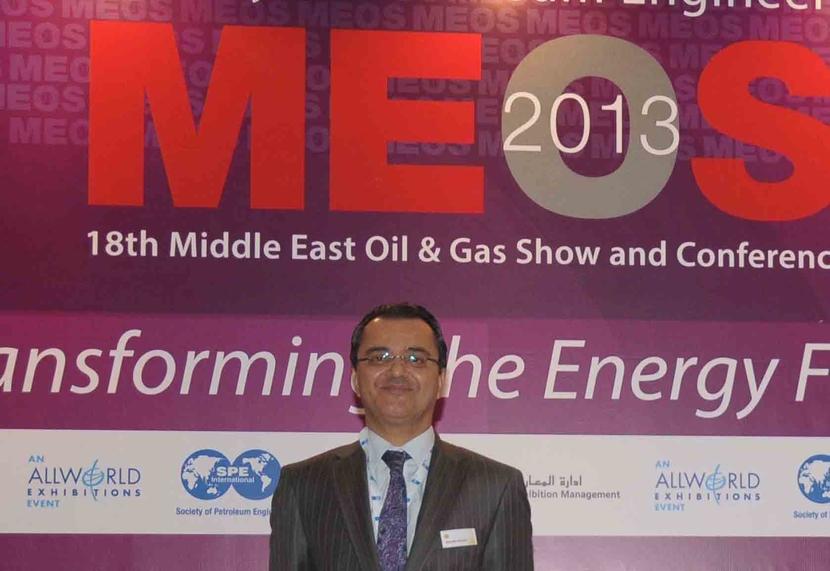 Mounir Bouaziz, Shell's Vice President, MENA at MEOS.