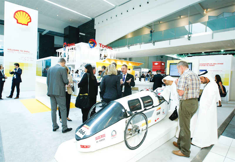 Futuristic car designs with environmentally friendly fuel options is usually on display.