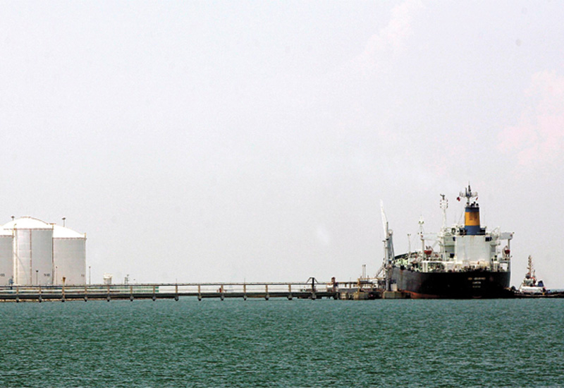 Saudi Aramco has stored crude in Okinawa since February 2011.