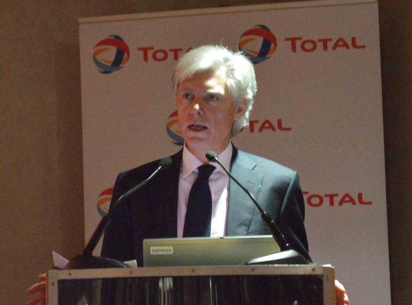 Arnaud Breuillac, senior vice president Middle East, Exploration & Production, Total