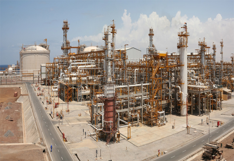 Total has oil and gas processing plants on Qatar's Halul Island.