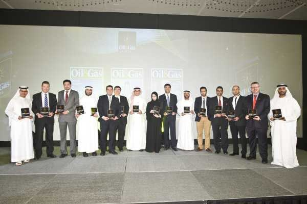 The Winners of 2013 Oil&Gas Middle East Awards.