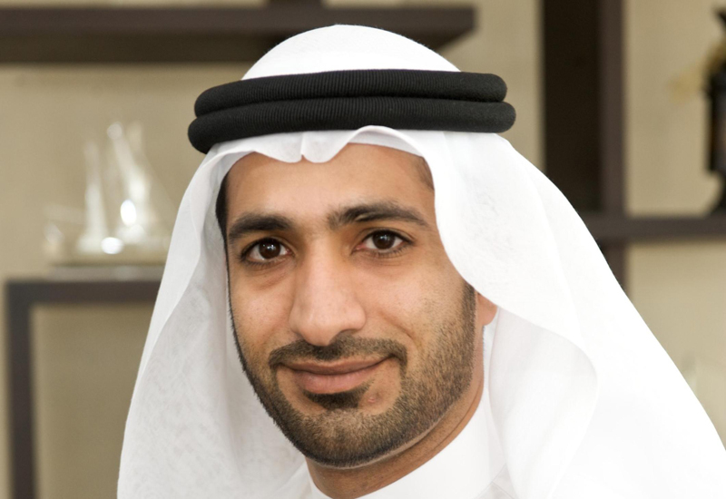 Abdulla Beloul, Managing Director, MD of Dubai Industrial City, welcome Gulf Eternit Industries.