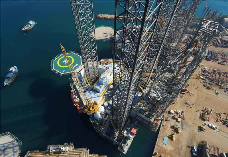Each of the two rigs could potentially generate revenues of US$246 million over its five-year contract term. (Not actual image)