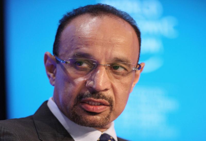 Aramco CEO Khalid al-Falih: spending $90 billion on downstream development projects. GETTY IMAGES