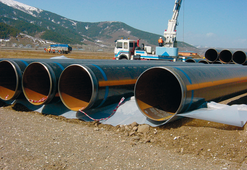 Borealis produced polyethelyne is used as an external anti-corrosive pipe coating material.