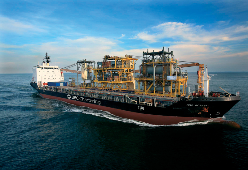 Some BBC Chartering vessels have a lift capacity of 500 tonnes.
