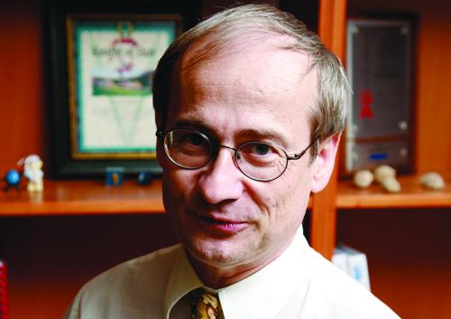 Bernard Montaron, carbonate theme director, Schlumberger.