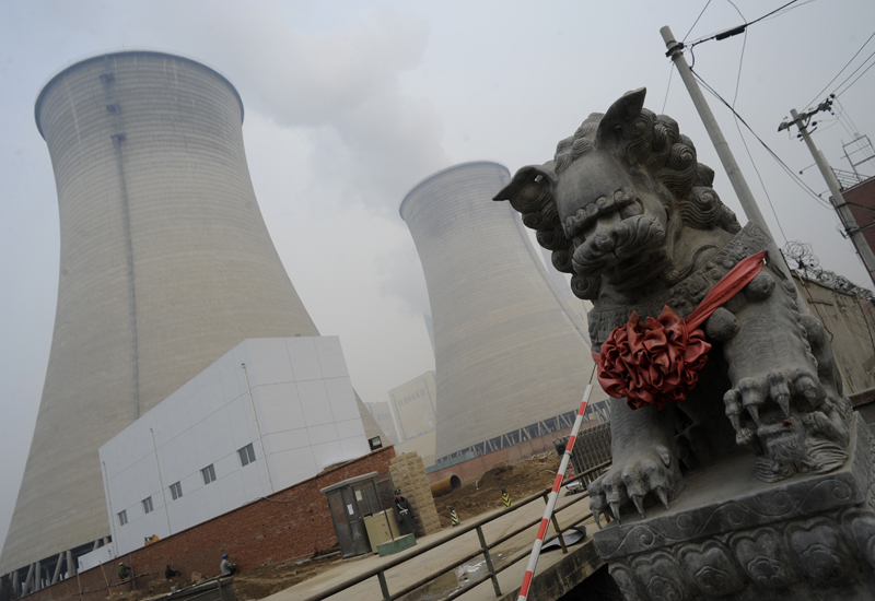 The advent of shale gas in China could reduce the country's use of coal for power generation. GETTY IMAGES