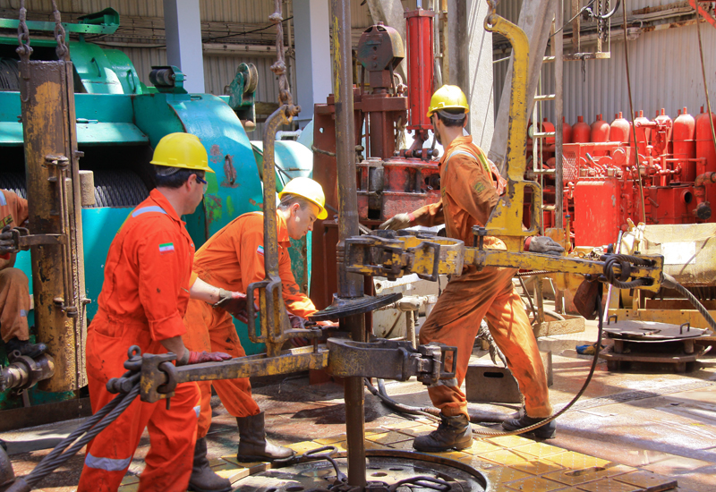 The firm has already commenced drilling from the Dzheitune (Lam) 13 platform.