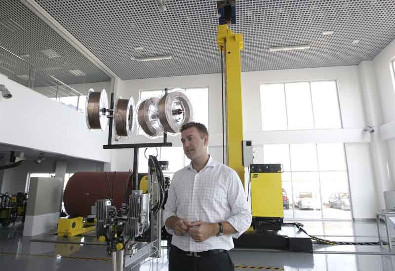 Fransson believes letting clients see the company's equipment first hand helps them to make better purchase decisions.