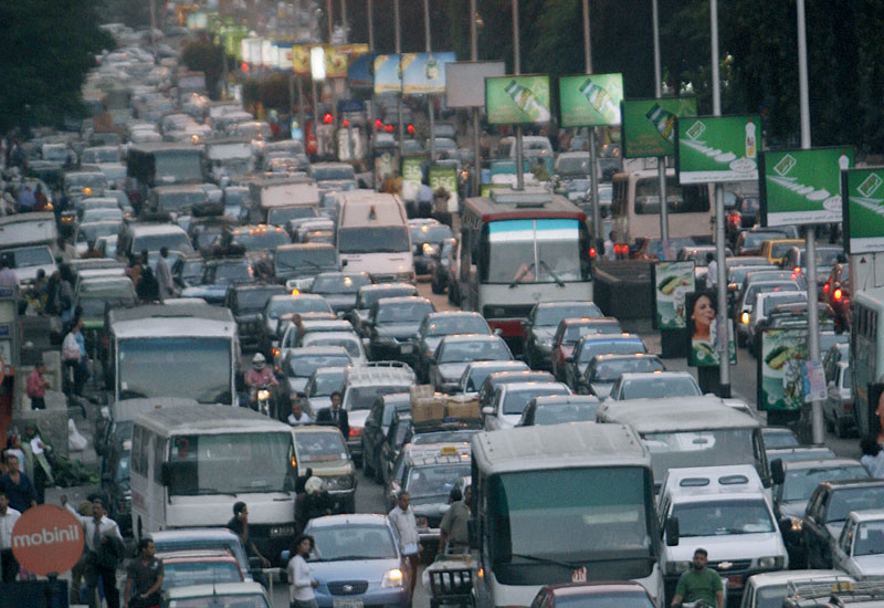 Cairo's addiction to private transport in world renowned.