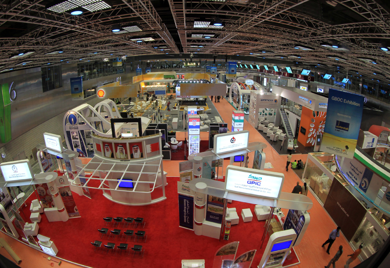 The exhibition hall at the 20th World Petroleum Congress in Doha, Qatar. GETTY IMAGES