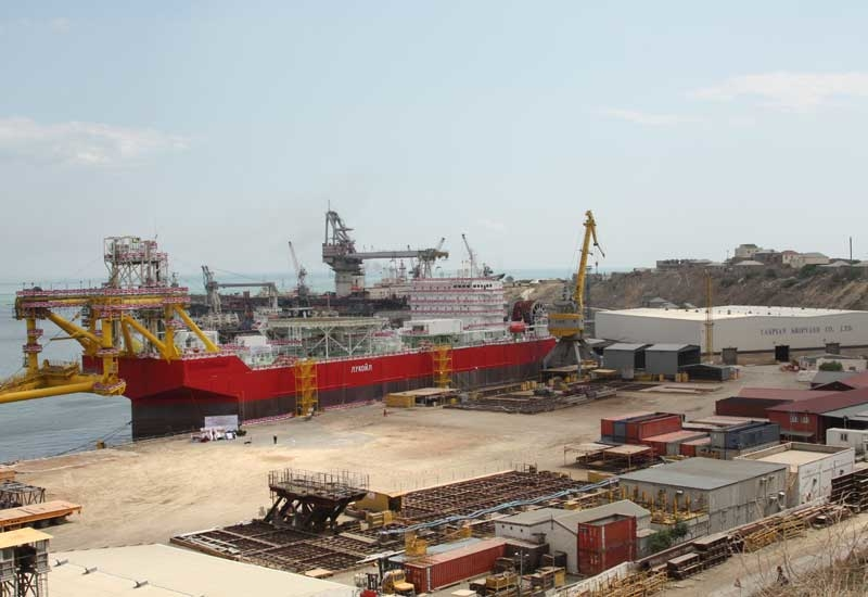 The vessel will be the first ice-class FSO to be completed and deployed in the Caspian region.