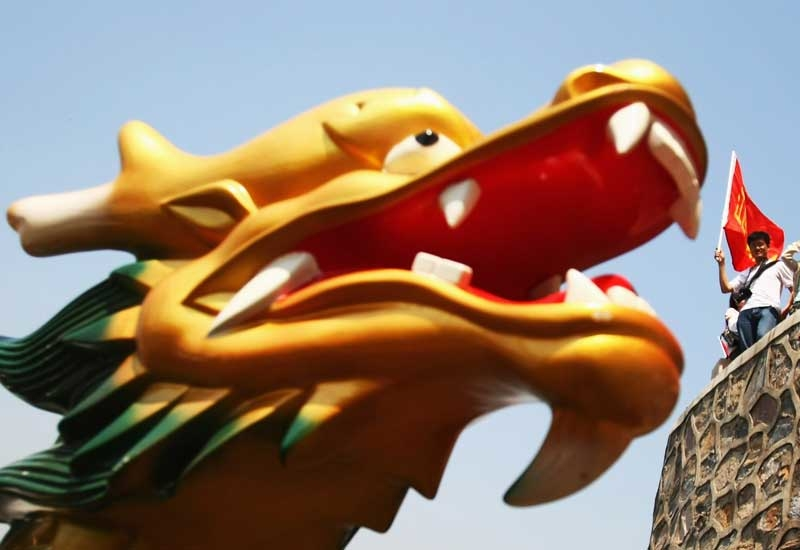 China's dragon economy keeps on roaring (Getty Images)