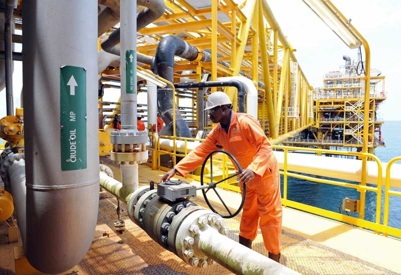 The Platts survey showed OPEC kingpin Saudi Arabia boosted output by 50,000 b/d in July. (GETTY IMAGES)