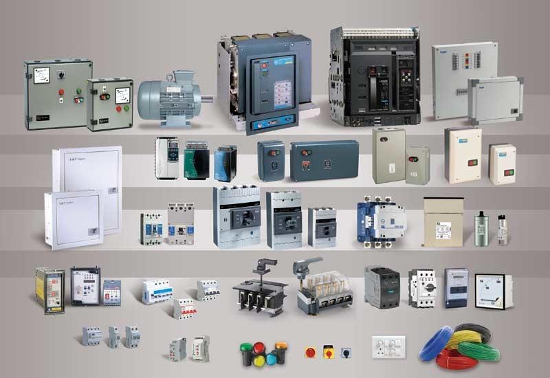 Some of Larsen & Toubro's product range.