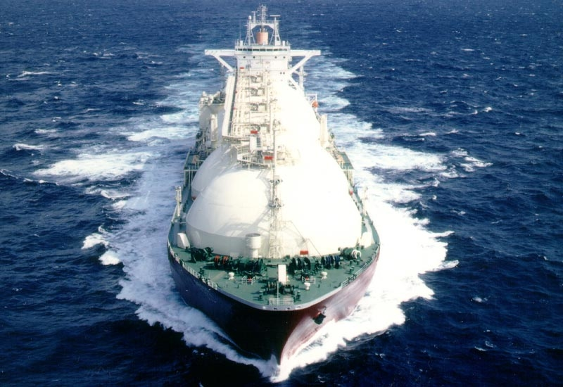 The LNG carriers are reportedly the largest in the world