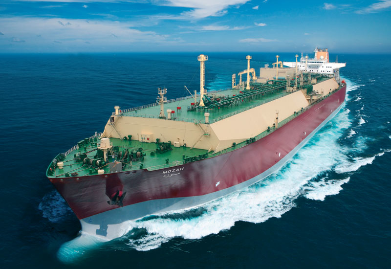 Nakilat's Q-Max vessels, with a capacity for 266 000m3 of LNG, can carry 80% more cargo than conventional ships.