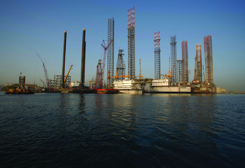 The Sharjah yard is working flat out and at full capacity with newbuild jack ups.